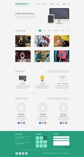one page website template web template psd psd web template 009 lili free psd website