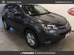 2015 Used Toyota RAV4 AWD 4dr LE at East Madison Toyota Serving ...