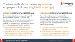irs reporting faq which aca eligibility measurement method should irs reporting faq which aca eligibility measurement method should an employer use