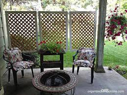 pretty diy outdoor privacy screens