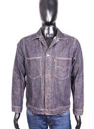 Details About Levis Mens Jean Jacket Grey Jeans Size S
