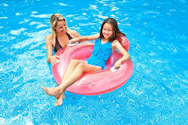 pool floating lounge chair headrest