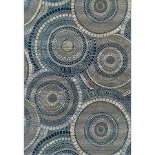 5 x 7 medium indigo indoor outdoor rug st brown jordan rugs search outdoor rug brown black round