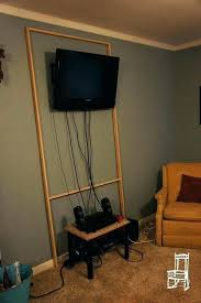 hide wires on wall mounted apartment covering flat screen cord cover cords hiding cable box for tv over fireplace scre