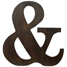 capricious ampersand wall decor d cor there s always an and love it my house
