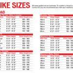 Specialized Mountain Bike Size Chart Lovely Specialized Size Chart 2016 Clasnatur Me