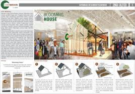 Small Picture BLOOMING HOUSE Booth Conwood Design Competition 2015 by Eka