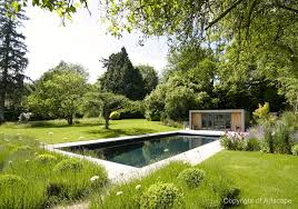 Small Picture Garden Design with Contemporary Swimming Pool