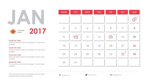 calendar template for powerpoint 2017 calendar powerpoint template fully editable powerpoint