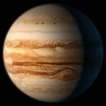 Юпитер планета гигант Рефераты ru Название планета получила еще тысячи лет назад и была названа в честь великого царя римских богов Юпитер находится за основным поясом астероидов