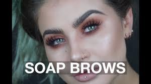 soap brow tutorial