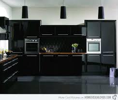 modern black kitchen cabinets.  Kitchen Modern Black Kitchen Cabinets Apseco Throughout O