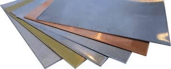Sheet Metal Density Table Common Materials Machinemfg Com