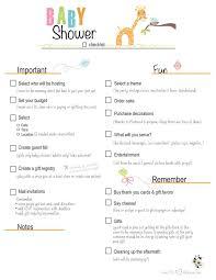 Best 25+ Baby Shower Checklist Ideas On Pinterest | Planning A ...