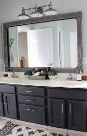 Easy Bathroom Mirror Frame Ideas Mecraftsman