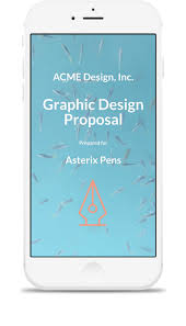 advertising proposal template qwilr display seamlessly across desktop tablet mobile