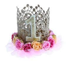 Buy Magideal Princess Birthday Crown Headband Cake Smash Baby Girls