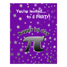 pi day invitation math day invitations announcements zazzle com au