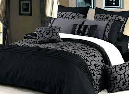Black And Gray Bedding Sets 6 Piece Queen Tranquil Black And Gray ... & Black And Gray Bedding Sets 6 Piece Queen Tranquil Black And Gray Comforter  Set Grey Chevron Bedding King Size Gray Cotton King Quilt Lyde Black  Charcoal ... Adamdwight.com