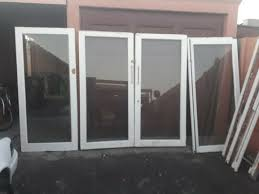 meranti wood good condition second hand 3 6m wooden sliding door with shatterproof glasses for