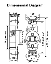 5801 i dimensional data · wiring diagram