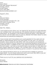 Night Auditor Cover Letter Auditor Cover Letter Sample Pohlazeniduse