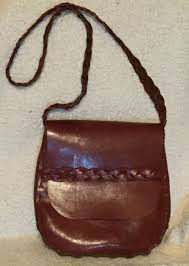 outlander inspired cross braided strap purse unlined