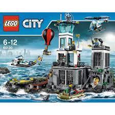 לגו סיטי - אי הכלא 60130 - לגו - Lego - חנות צעצועים לילדים - אמיגו