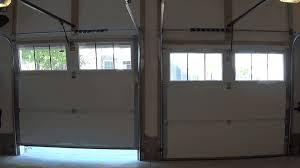 garage door open close