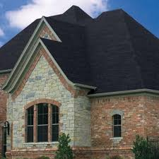 black architectural shingles. Perfect Architectures, Stone House With Black Onyx Owens Corning Architectural Shingle Roof: Get To Shingles O
