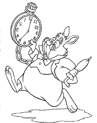 Small Picture White Rabbit Coloring PagesRabbitPrintable Coloring Pages Free