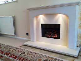 an image showing a gazco riva 500 gas fire installed