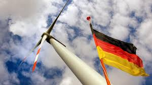 essay by rwe executive on green technology is the envy  an offshore wind turbine near rostock plays a leading role in green technology