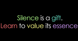 Image result for peace in silence quotes