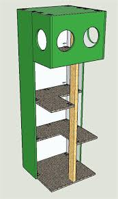 simple cat tree plans free build your own cat tree plans free build your own cat