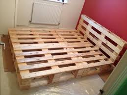 pallet bed frame of the picture gallery