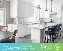Furniture Classic Design Hot Item American Classic Design Custom Solid Wood White Shaker Style Modular Kitchen Furniture