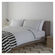 care instructions washable at 40 degrees voyage grey light grey 300 thread count cotton percale superking duvet cover set