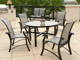 outdoor round table and chair dining of round patio dining table aluminum outdoor room super amazing outdoor round table