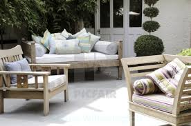 Outside seating stock image our image licences