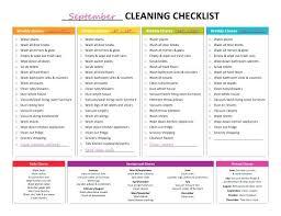 Weekly Household Cleaning Schedule Weekly House Cleaning House Cleaning List Cleaning List Master