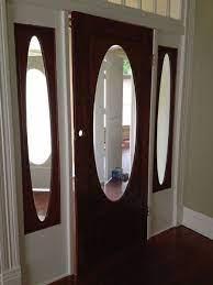 how to cover windows in front door