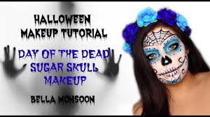 easy day of the dead sugar skull makeup tutorial 2018 south african your