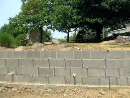 cement retaining wall best concrete block retaining wall ideas on pertaining to cement retaining wall plan