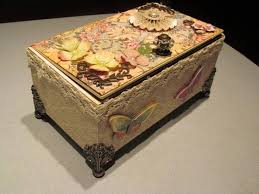 Decorating Cigar Boxes 100 best Cigar Boxes images on Pinterest Decorated boxes 13