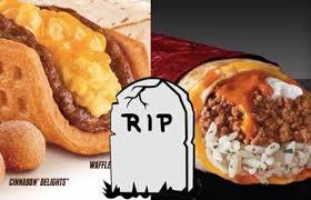 taco bell discontinues the sriracha quesarito and waffle tacos