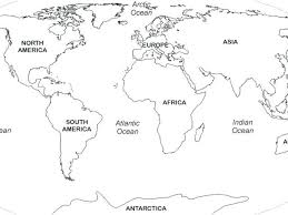 World Map Coloring Pages Pdf Blank Map Of North World Map Coloring