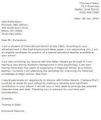 teacher cv with cover letter
