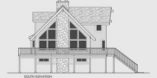 loft mountain house plans