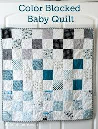 Easy To Make Baby Boy Quilts 40 Free Baby Quilt Patterns Baby Boy ... & Color Blocked Baby Quilt Patterns Free Pattern Polka Dot Chair Baby Boy  Quilts To Make Easy Adamdwight.com